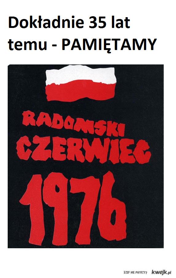 Radomski czerwiec - 25 czerwca 1976 - PAMIĘTAMY