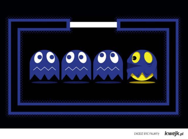 Ukryty Pacman