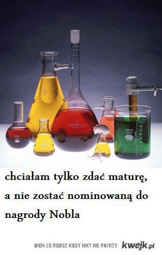Matura z chemii