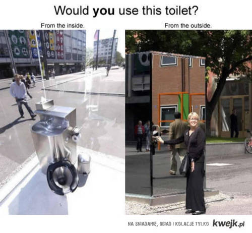 toaleta ;)
