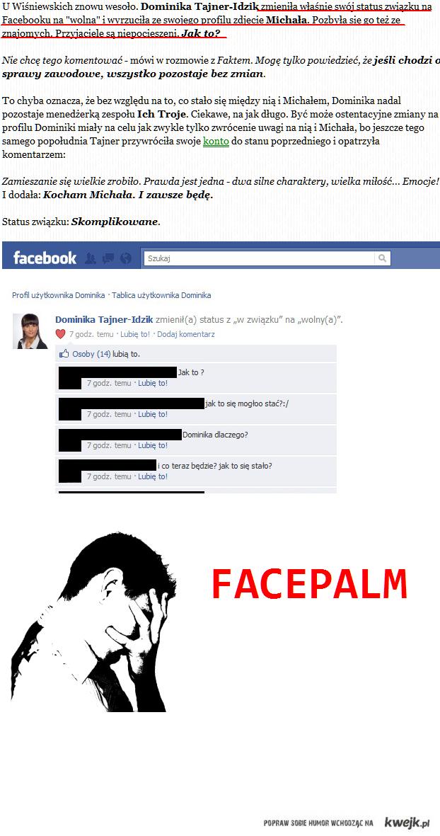 facebook & FACEPALM