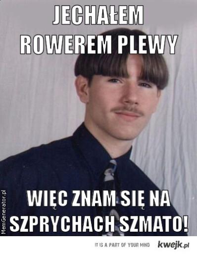 Rower plewy