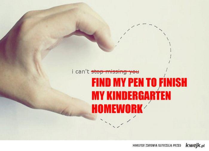 Kindergarten homłork