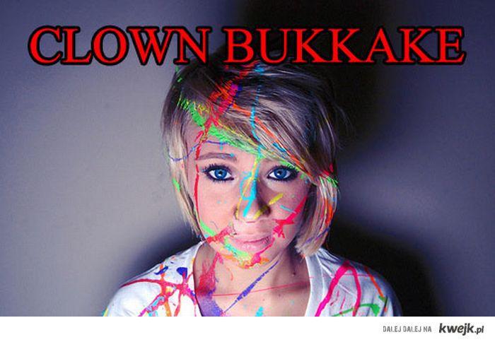 Clown bukkake