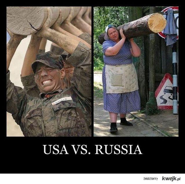 Usa vs Rosja