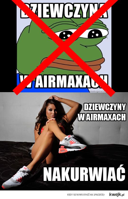 Dziewczyny w Airmaxach