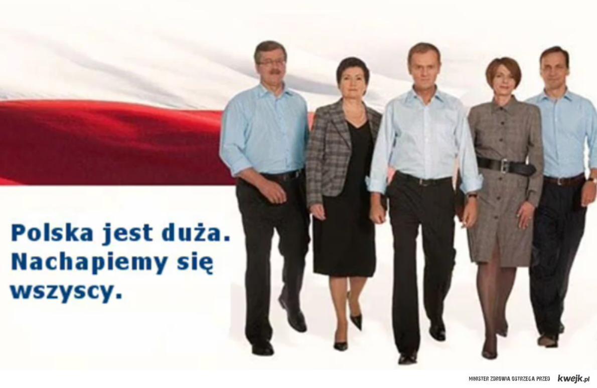 polska jest duza