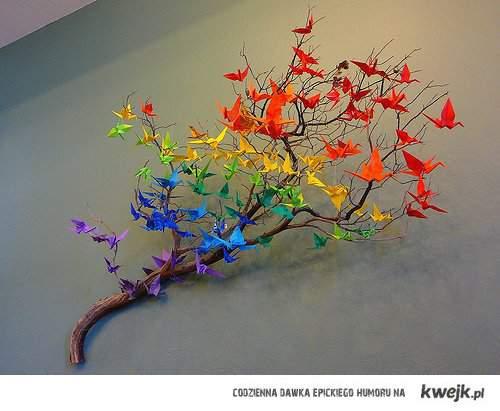 Kolorowe Dżewo