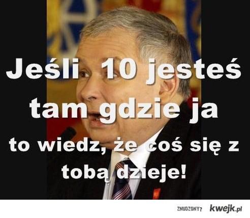 Kaczyński alarmuje...