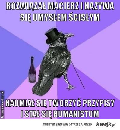 Ścisłe vs Humanisty