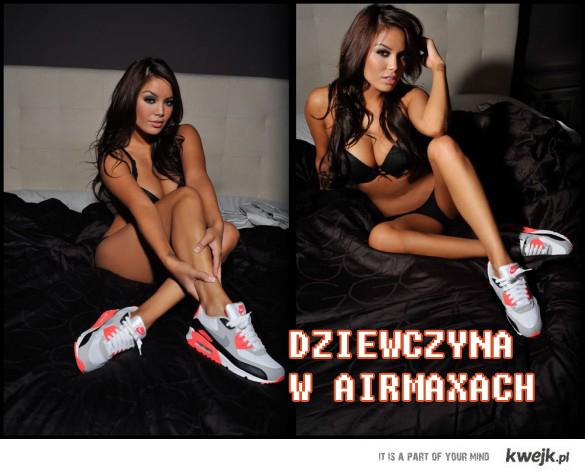 dziewczyna w airmaxach