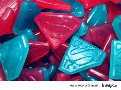 Superman candies