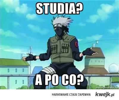 Studia? A po co?
