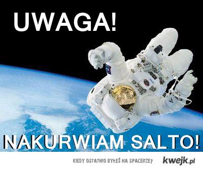 Salto w kosmosie