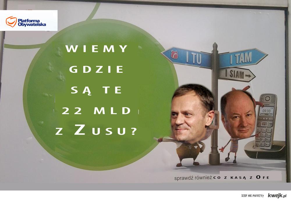 Gdzie są 22 mld z Zusu?