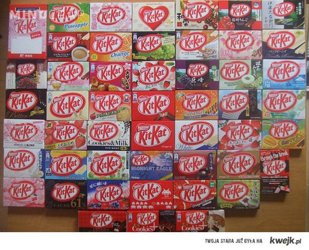 Kitkat Japonia