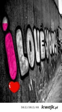 Kocham cię, no ! Zauważ to ! :*