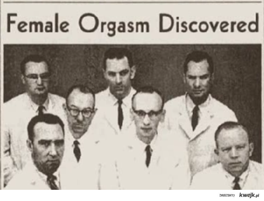 Female Orgasm Discovered !