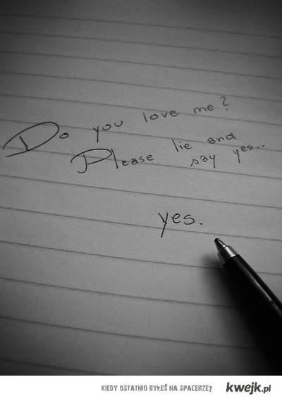 say love.