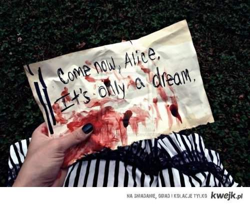 come on alice