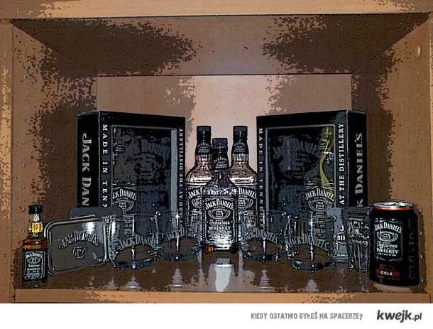 Jack Daniel's altar