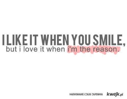 i like, i love