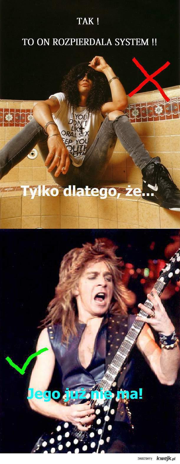 Slash vs. Randy