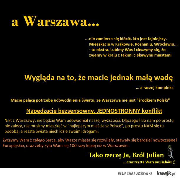 odpowiedź Warszawy
