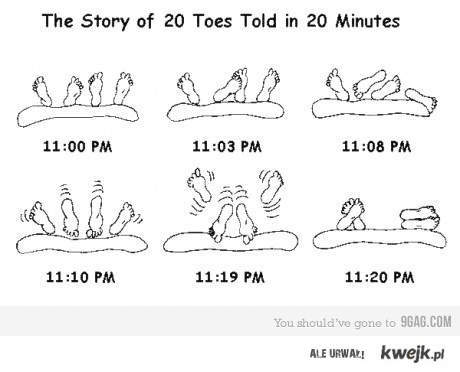 The sory of toes Told in 20 minutes