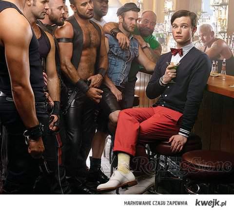 W gejowskim barze dla miśków.