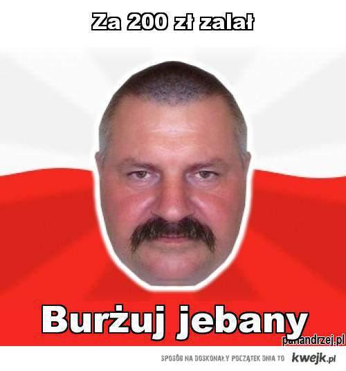 Pan Andrzej i benzyna