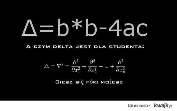 A co musi wiedzieć student: