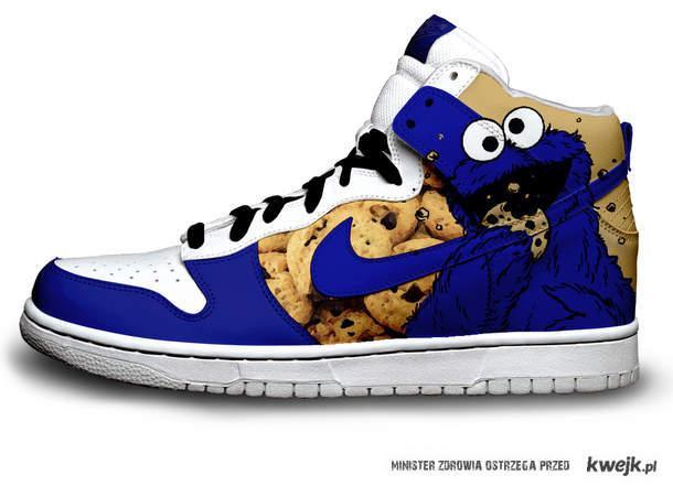 cookie monster shoe