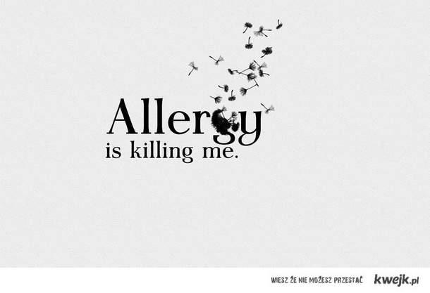 Allergy is killing me