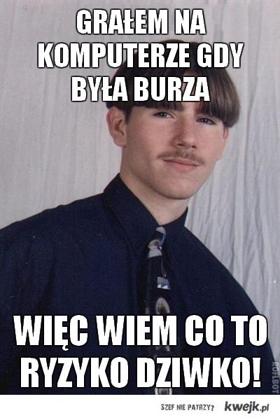 Grał w Burze