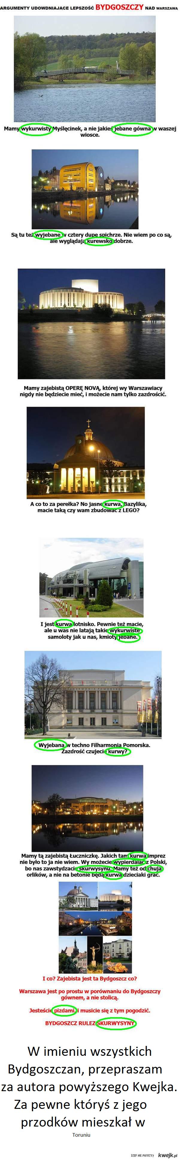 Bydgoszcz przeprasza