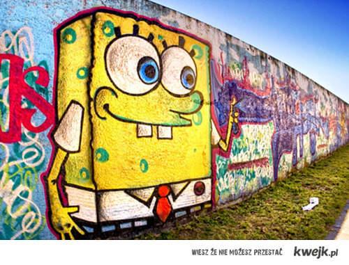 Spongebob graffiti