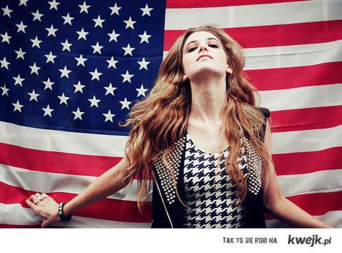 American flag .