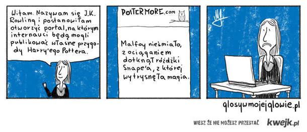 Nowy pomysł Rowlingowej