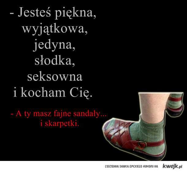 skarpetki i sandały ♥