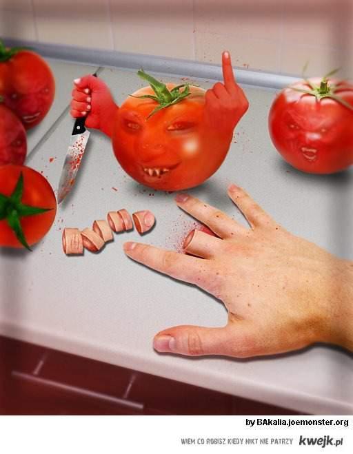 atak warzyw