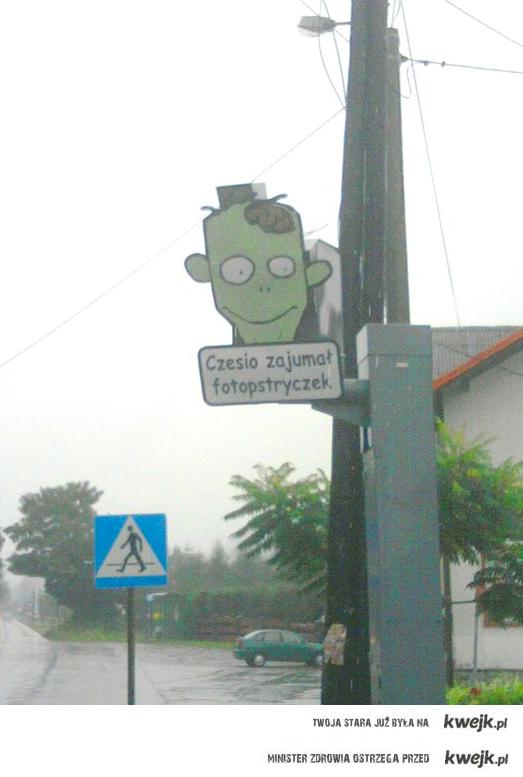 Nowy pogromca fotoradarów - Czesio :)
