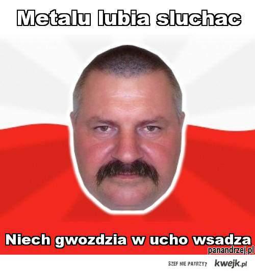 metalu lubia sluchac