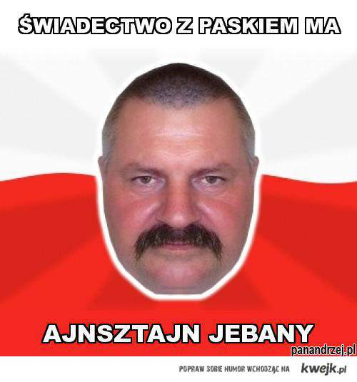Pan Andrzej i jego cięta riposta