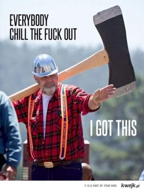 Badass Lumberjack