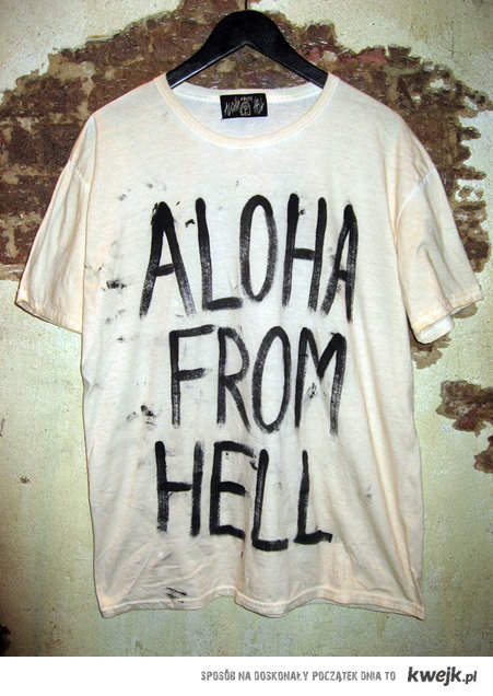 Aloha From Hell T-shirt