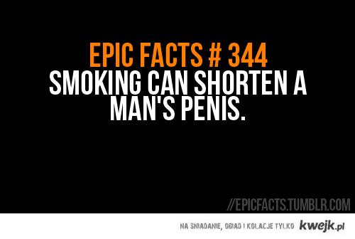 mężczyzno, rzuć palenie