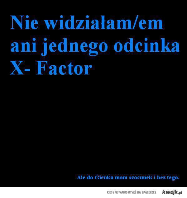 X Factor Gienek Loska