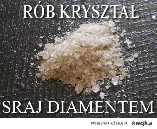 sraj diamentem