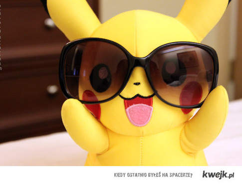 pikachu in sunglasses